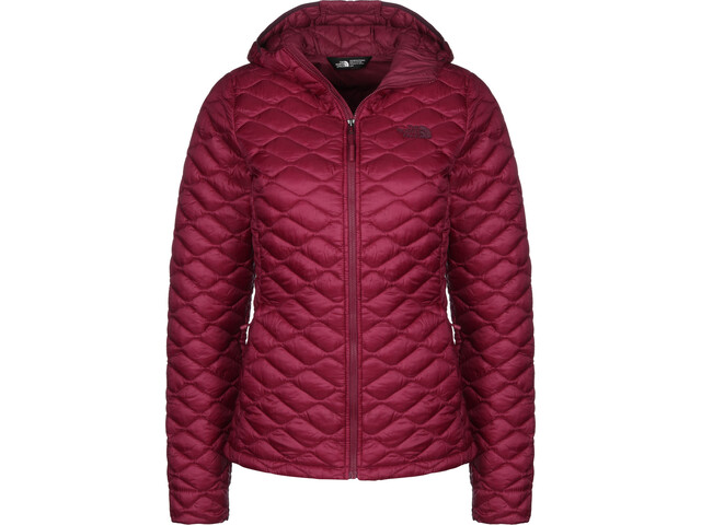 The North Face Thermoball Pro Veste à capuche Femme, rumba red